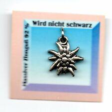 [SCH10] Edelweiß Charm Charivari Anhänger Edelweiss