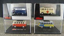 Schuco VW Bus T1 Samba Rotes Kreuz Lufthansa Box Van Osram  1:87 Sch 69-72