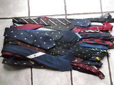 Joblot Mens Neck Ties x 50 Job Lot Bulk Buy Vintage Retro Neckties Crested Club