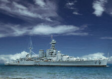 HMS HOOD - HAND FINISHED, LIMITED EDITION (25)
