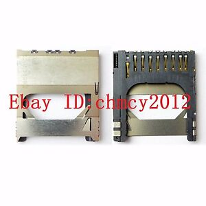 New SD Memory Card Slot Holder For Canon EOS 500D / Rebel T1i / Kiss X3 Repair