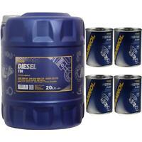 20L MANNOL Diesel TDI 5W-30 API SN/CF Öl MN7909-20 Motorspülung Motor Flush