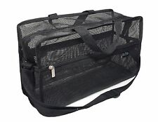 DELUVA BM006 Mesh Set Bag 15x9x6, On Location, Set, Carry All, Organize school