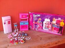Cucina Barbie 1995 In Ottimo Stato Con Scatola E Molti Accessori Vintage Kitchen