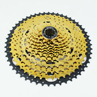 VG Sports MTB 12 Speed Bicycle Cassette 12S 11-52T Gold Freewheel Sprocket Cog