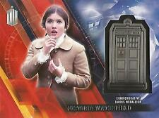 """Doctor Who Timeless - """"Victoria Waterfield"""" Silver Tardis Medallion Card #07/25"""