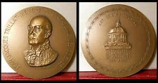 1971 MEDAILLE BRONZE TRILLAT SCIENCES PHYSICIEN RAYONS X PHYSICIST