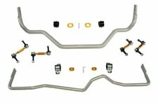 Whiteline Front & Rear Sway Bar Kit w/ Bushings & Links Z33 350z V35 G35 Coupe