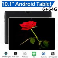 """10.1"""" Android 6.0 Octa-Core 4G 64GB Tablet PC Dual SIM 3G WIFI Bluetooth Lot ON"""