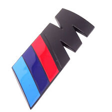 Emblema 3D adesivo M Motorsport BMW METALLO automobile car tuning sticker NERO