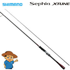 "Shimano SEPHIA XTUNE S806M Medium 8'6"" eging squid fishing spinning rod"