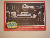 Star Wars Series 2 (Red) Topps 1977 Trading Card # 88 Stormtroopers Guard Solo's