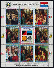 Paraguay 2246 sheet MNH Art, Animals, Adoration of the Shepherds, Schongauer