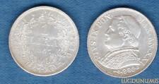 Vatican - 1 Lire 1867 XXIR Qualité SUP + - Argent Silver - Papal States