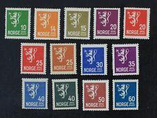CKStamps: Denmark Stamps Collection Scott#115/128 Mint H OG