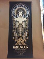 Metropolis Variant Screenprint Poster by Ken Taylor