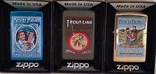 Zippo Tobacco Tin SET 3 of Tobacco Tin Series No 2 Limited Edition RARE
