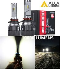 Alla Lighting 10000lm 9005 LED High Beam Headlight Light Bulbs Lamps,Xenon White