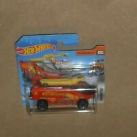 hot wheels HW Metro - Runway Res-Q  fire engine Red 2019  S/cd (H4)