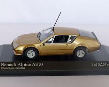 Renault Alpine A310 rame metallico, MINICHAMPS 1:43