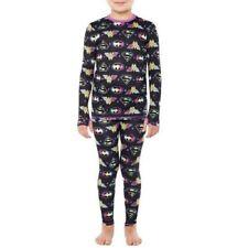 Girls DC Comics Super Girls 2pc Pajamas Long Underwear Set Size 7/8 New with Tag