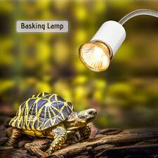 25W Heat Lamp Uva Uvb Basking Lamp Heater Light Bulb for Reptiles Lizard Turtle