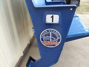 Tiger Stadium seats: Commemorative Medallion -Blue: fully restored