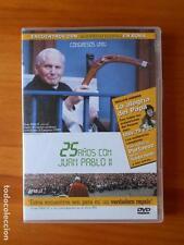 DVD 25 AÑOS CON JUAN PABLO II - COMO NUEVA (H3)