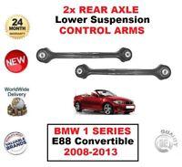 2x Posteriore Asse Sinistro + Destro Inferiore Bracci di Controllo per BMW 1 E88