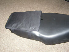 Moped Expanding Tail Bag, will fit helmet inside, Zips Flat when not inuse