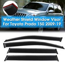 Premium Weathershields Weather Shields Window Visor For Toyota Prado 150  O