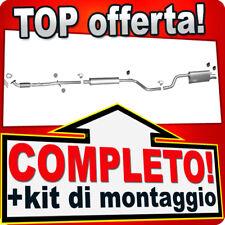 Scarico Completo OPEL MERIVA B 1.4 100CV +Tubo anteriore Marmitta Y101
