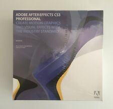 ADOBE After Effects Creative Suite 3 CS3 Professional Mac Universal PN: 15510671
