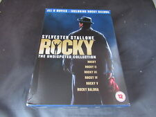 DVD Boxset Rocky The Undisputed Collection Rocky I II III IV V Balboa