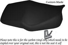 Fibra De Carbono Vinilo Custom 91-96 encaja Honda Cbr 600 F Doble Vinilo cubierta de asiento