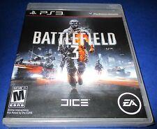 Battlefield 3 Sony PlayStation 3 *First Print - Black Label! Sealed-Free Ship!