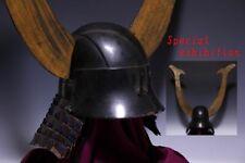 Japan Antique Edo Etchu kabuto yoroi armor katana samurai busho tsuba wakidate