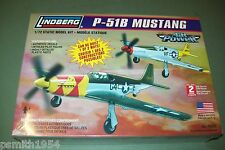 Lindberg North American P-51 B Mustang 1:72 Escala Kit