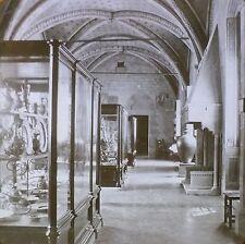 Hall of Fayences, Bargello, Magic Lantern Glass Slide, (Florence, Italy)