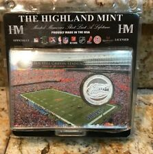 UNIVERSITY OF FLORIDA GATORS Highland mint Silver Plated Coin Factory Sealed new