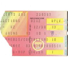 U2 & Red Rockers Concert Ticket Stub La Ca 3/2/85 Unforgettable Fire Tour Rare