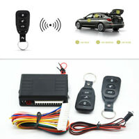 Universal Car Door Lock Vehicle Keyless Entry System Remote Control Central Kit