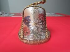 Vintage Reuge Collectors Musical Bell # 6307=Edelweiss=Switzerland=NR