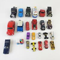 VTG Car Lot 24 Die Cast Cars Hot Wheels Maisto Tonka Corgi Miniflex Whizzwheels