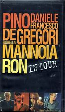 PINO DANIELE DE GREGORI MANNOIA RON - IN TOUR - VHS  NUOVA SIGILLATA SEALED RARO