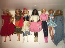 Mixed lot of 11 Vintage Barbie Dolls
