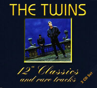 """2 CD The Twins Best Of Hits 12"""" Versions 24 Rare Tracks 80s Italo Synthi Pop Neu"""