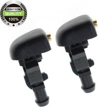 2x Windshield Wiper Water Sprays Washer Nozzle FOR 2004-2014 Ford 3W7Z-17603-AA