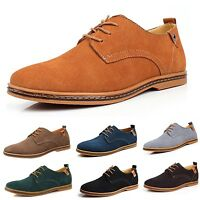 Business Brogues Oxford Casual Wedding Office mens faux leather Shoes tata