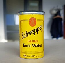 Vintage 70's Schweppes Tonic Water Can Shaped Pencil Sharpener Made in W Germany